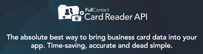 FullContact Card Reader API Integration