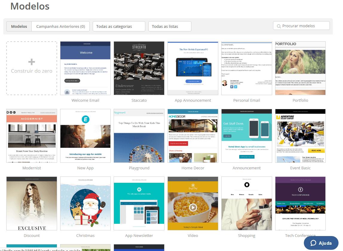 exemplos de email marketing plataforma activecampaign