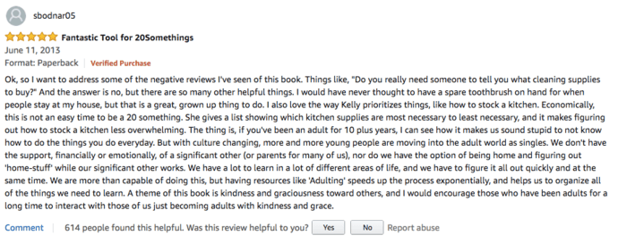 Amazon review mining