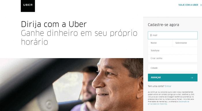 landing-page-exemplos-uber