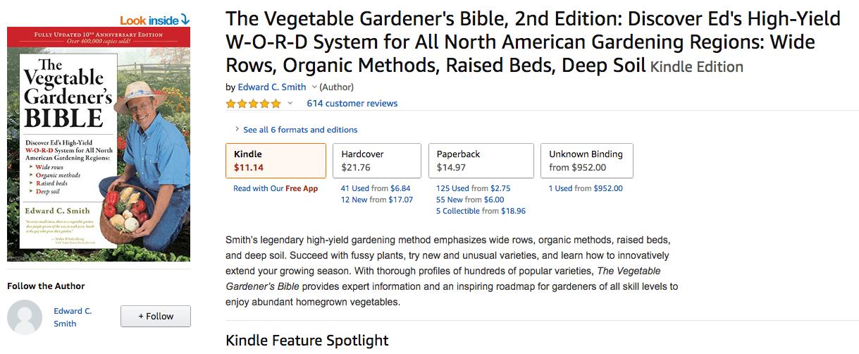 Gardening bible
