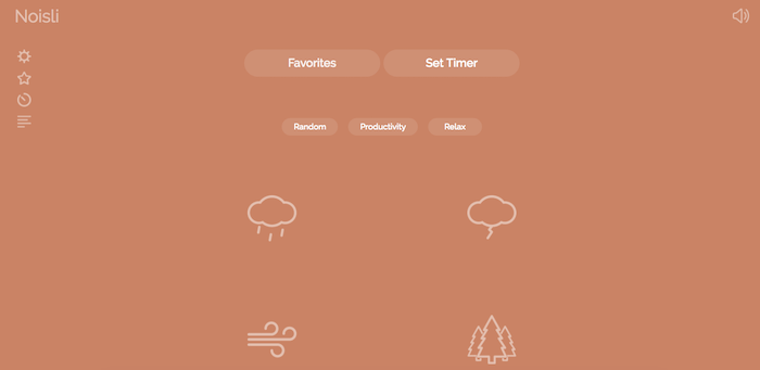 Noisli Chrome Extension